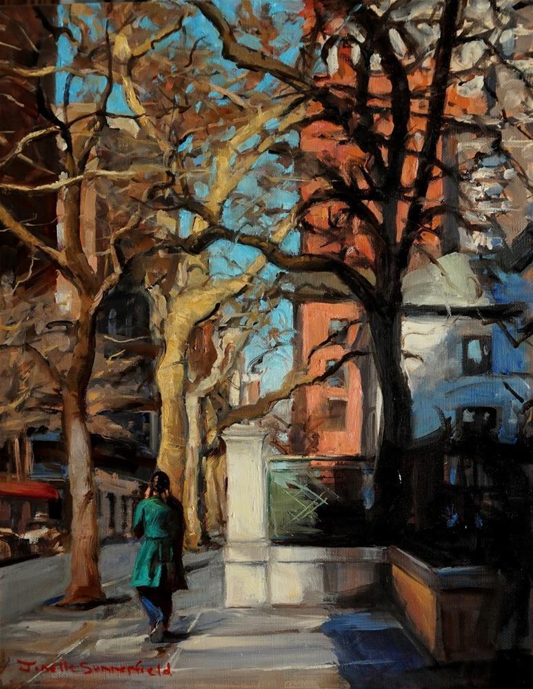 """Morning in Manhattan"" original fine art by Jonelle Summerfield"