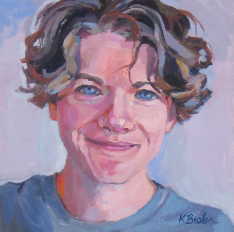 """Carol"" original fine art by Kaethe Bealer"