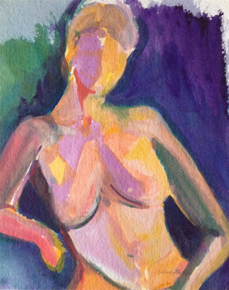 """""""Nude #1"""" original fine art by Dawn Melka"""