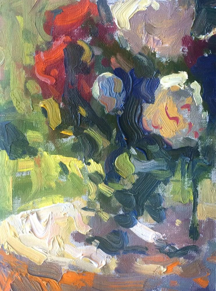 """Sunny Flowers "" original fine art by Michael Clark"