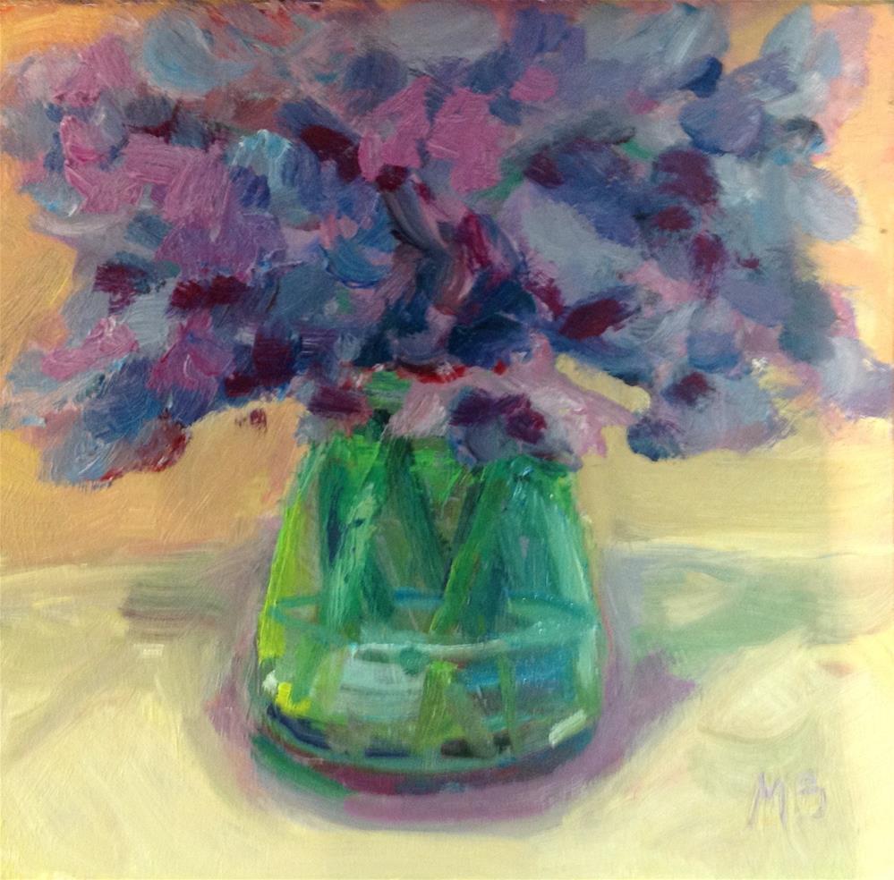 """Annette's Vase"" original fine art by Marcia Bergtholdt"