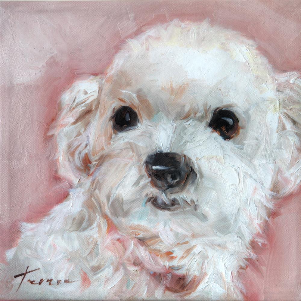 """Puppy 02"" original fine art by Teresa Yoo"