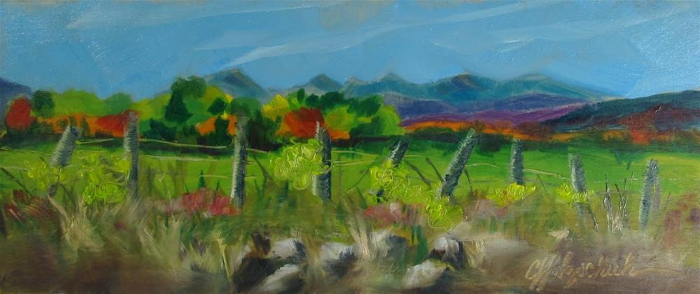 """Panorama"" original fine art by Christine Holzschuh"