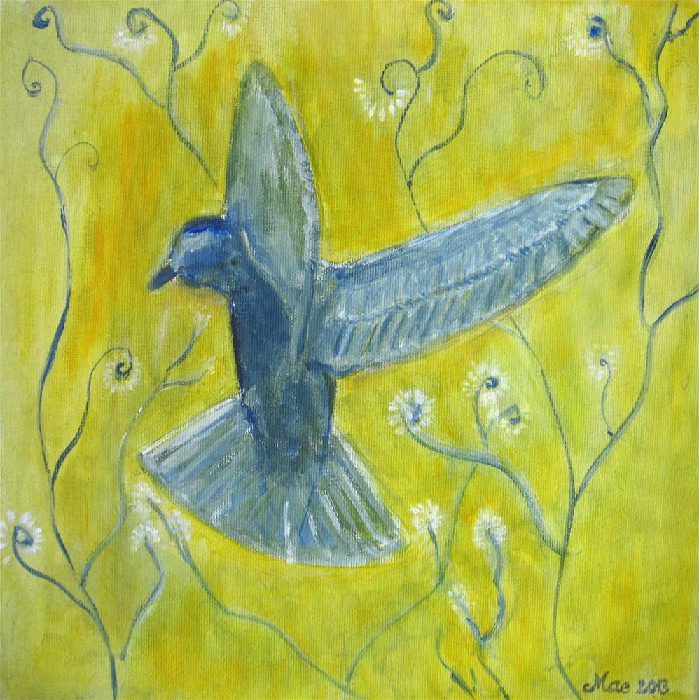 """Landing"" original fine art by Alina Frent"