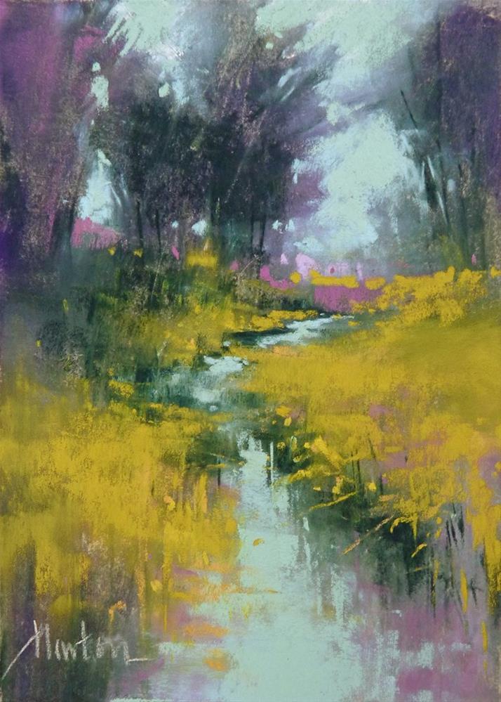 """Rock Creek Meadows"" original fine art by Barbara Benedetti Newton"