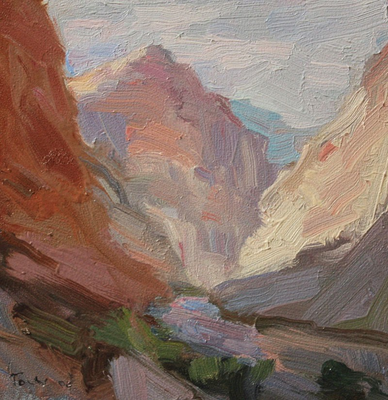 """Grand Canyon, End of Day"" original fine art by Kathryn Townsend"