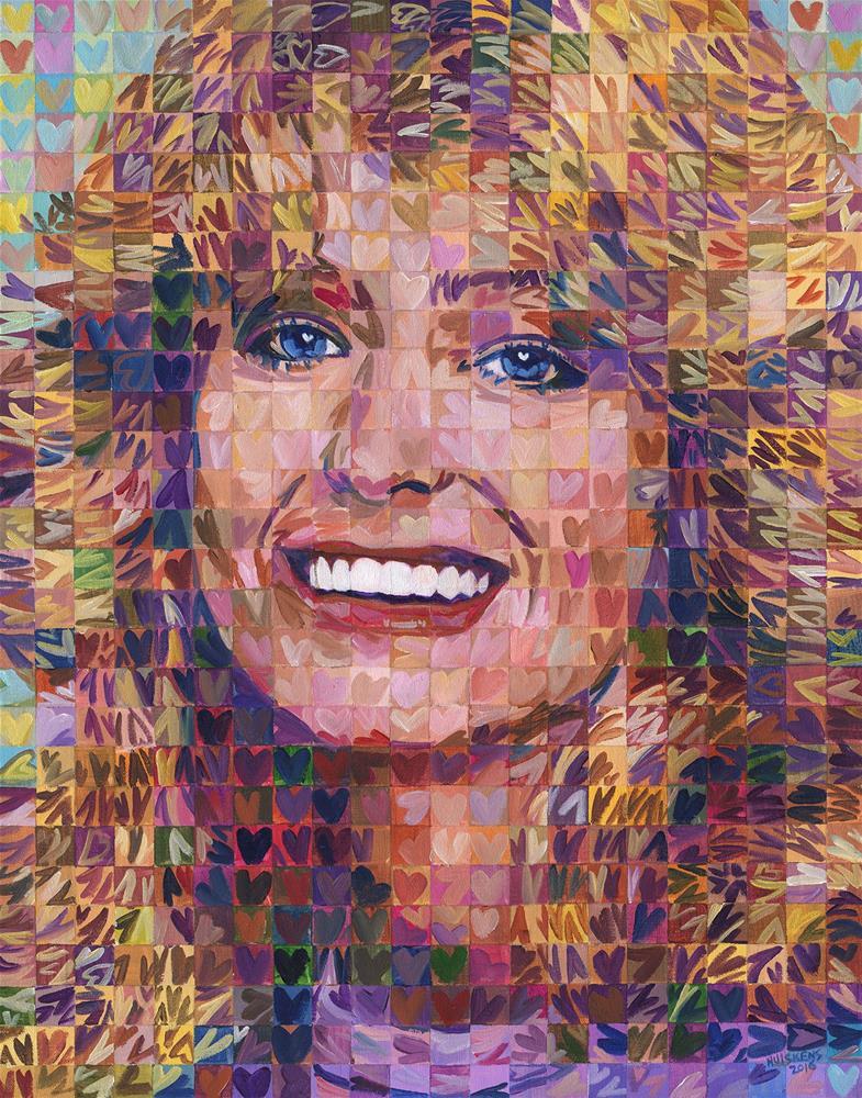 """I ♥ Farrah"" original fine art by Randal Huiskens"