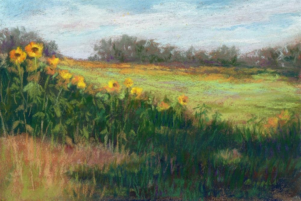 """Edge of the Field"" original fine art by Vikki Bouffard"
