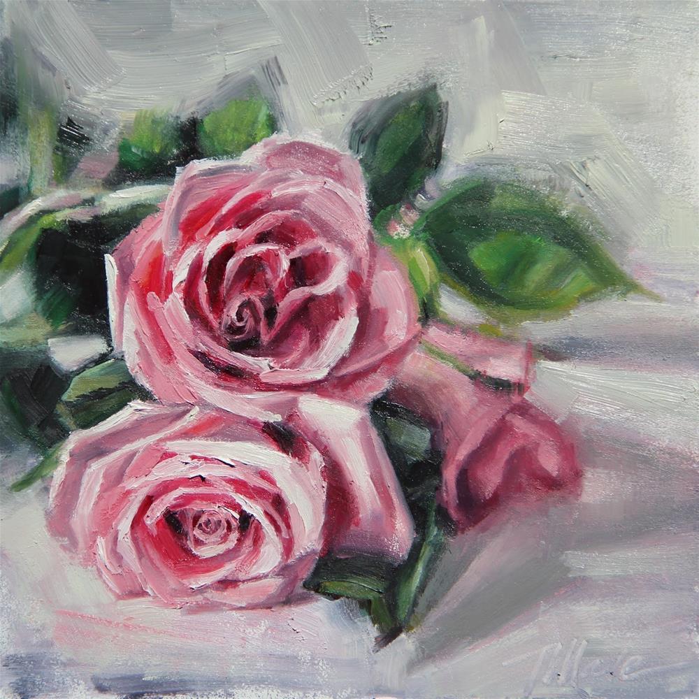 """Romance"" original fine art by Tracy Male"