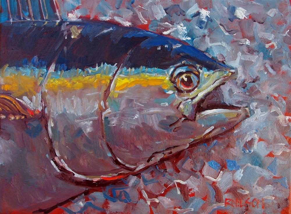 """Tuna on Ice"" original fine art by Rick Nilson"