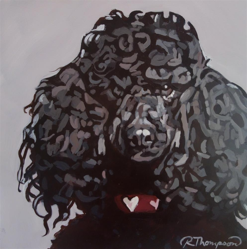 """Annabel - Day 28"" original fine art by Rachel Thompson"