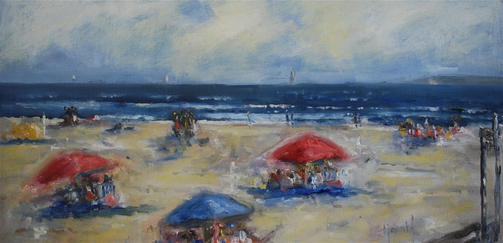 """August"" original fine art by Deborah Harold"