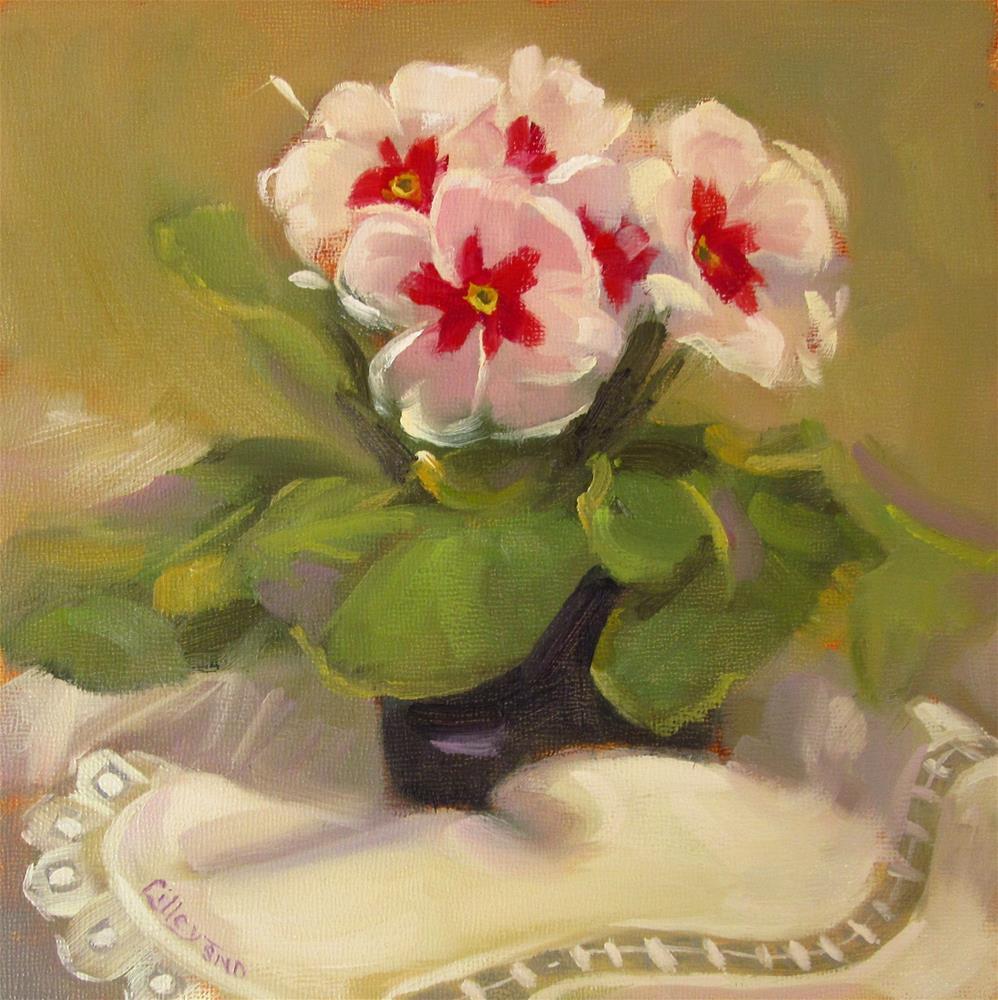 """Primrose II"" original fine art by Maresa Lilley"