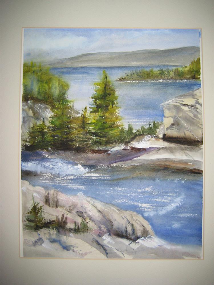 """Lake Tahoe"" original fine art by Susan Brens"