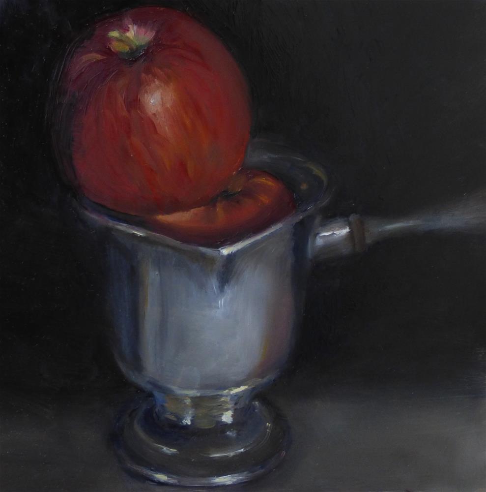 """""""Fresh Toddy"""" original fine art by Christine Angelotta Dixon"""