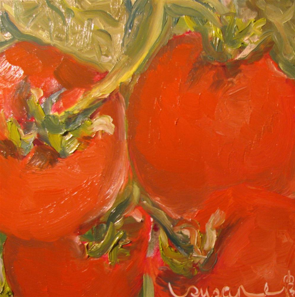 """Vine Ripened"" original fine art by Susan Elizabeth Jones"
