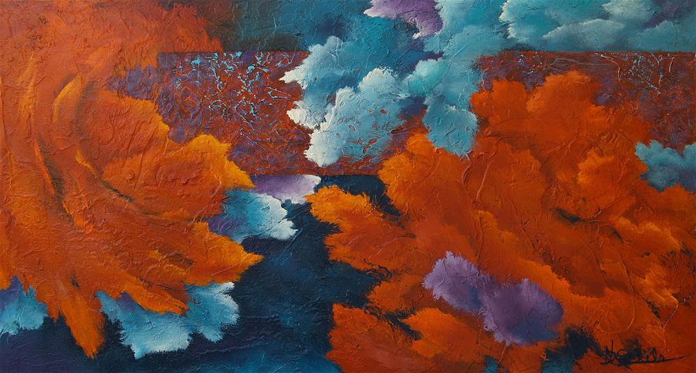 """Dreaming In Color"" original fine art by Nancy Eckels"
