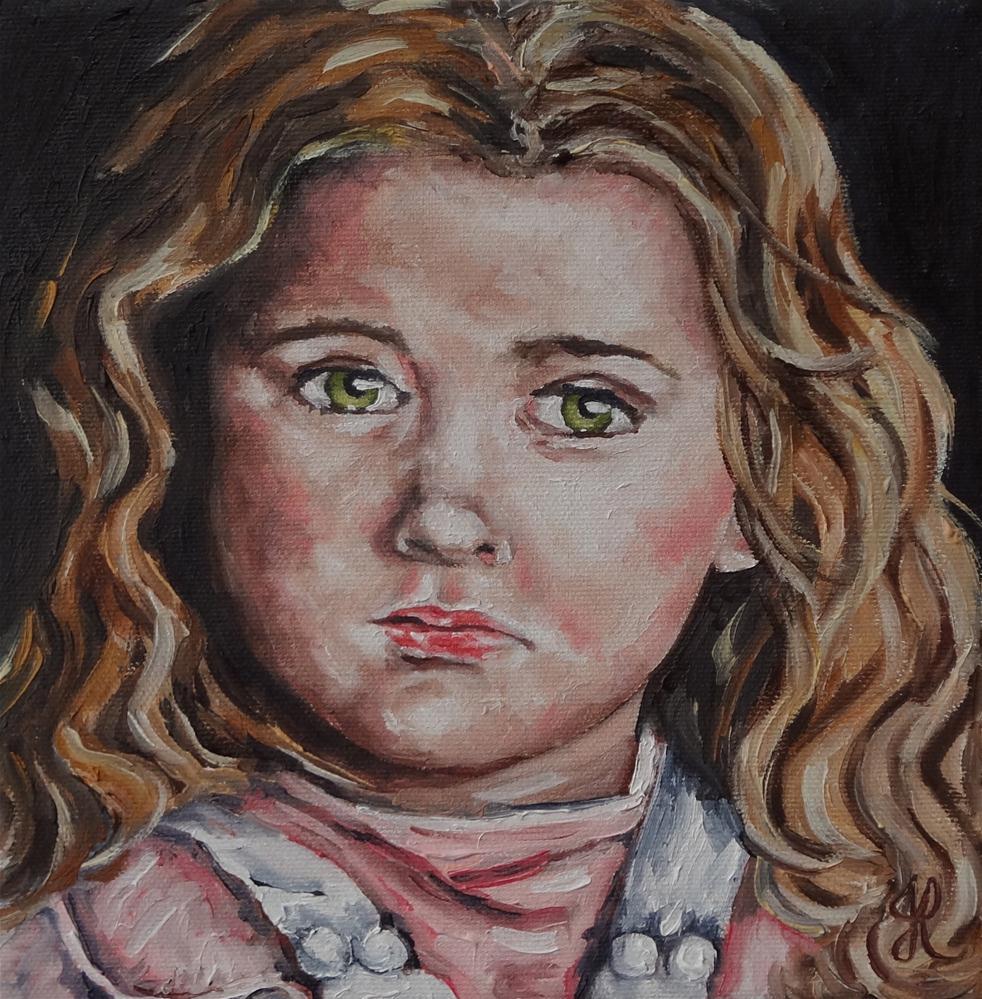 """Rosie"" original fine art by Jacinthe Rivard"