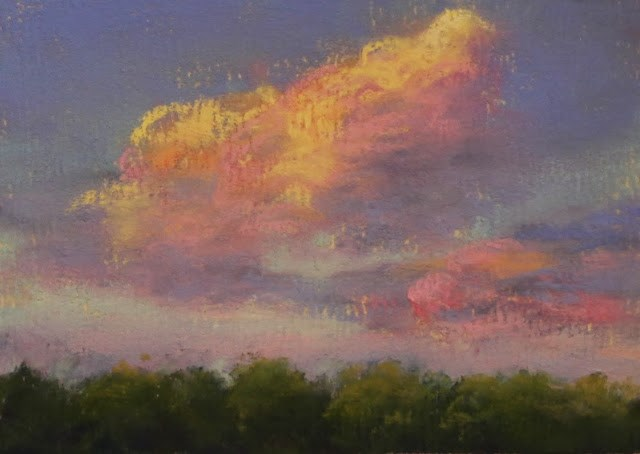 """Fleeting Light"" original fine art by Sharon Lewis"