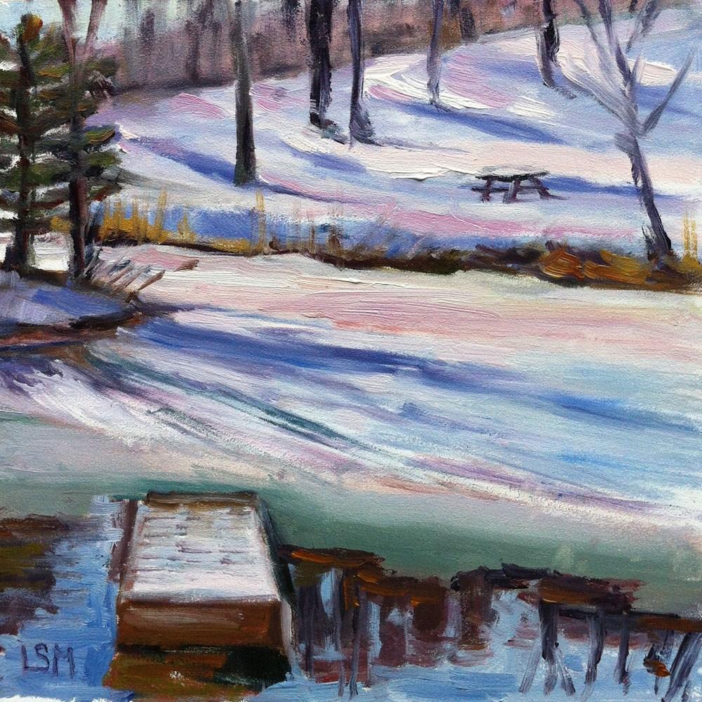 """Winter Brights"" original fine art by Linda Marino"