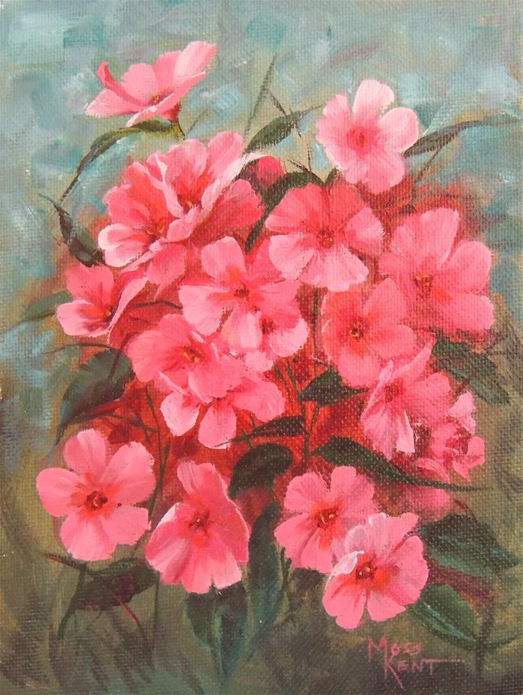 """Gene's Flowers"" original fine art by Moss Kent"