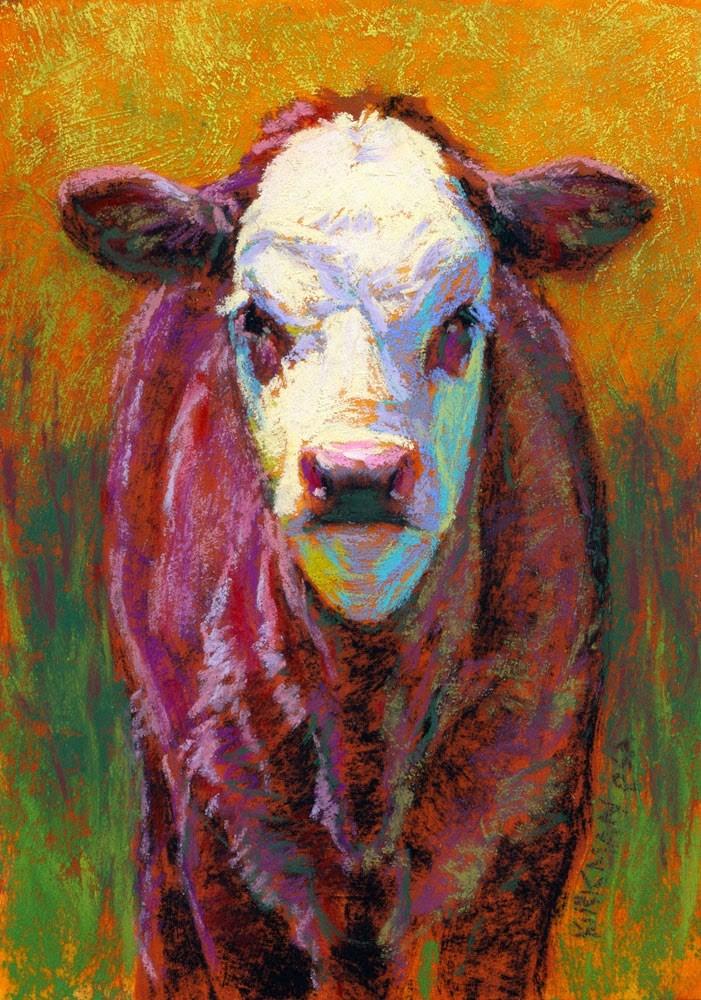 """Merlot"" original fine art by Rita Kirkman"