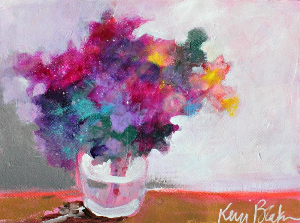 """""""Colorful Bouquet """" original fine art by Kerri Blackman"""