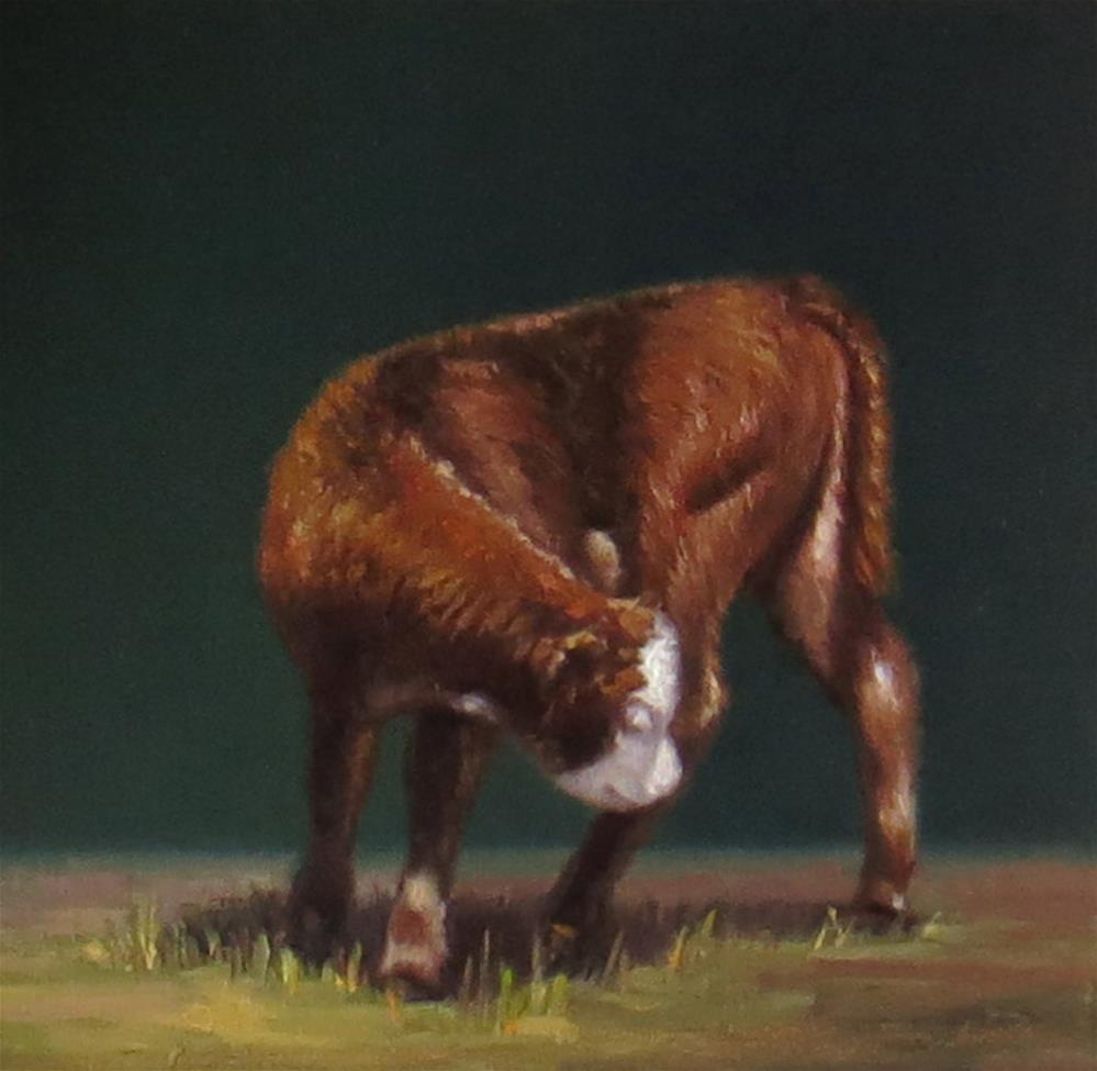 """The Itch"" original fine art by Darla McDowell"