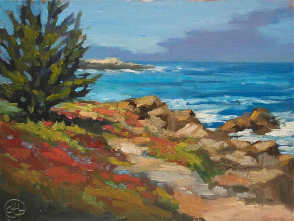"""California dreaming"" original fine art by Dottie  T  Leatherwood"
