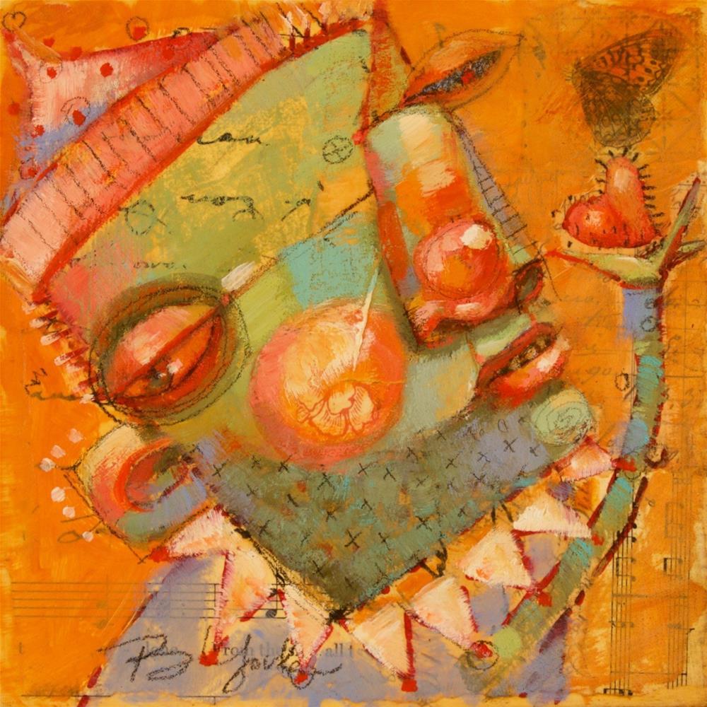 """Turbulent Heart"" original fine art by Brenda York"
