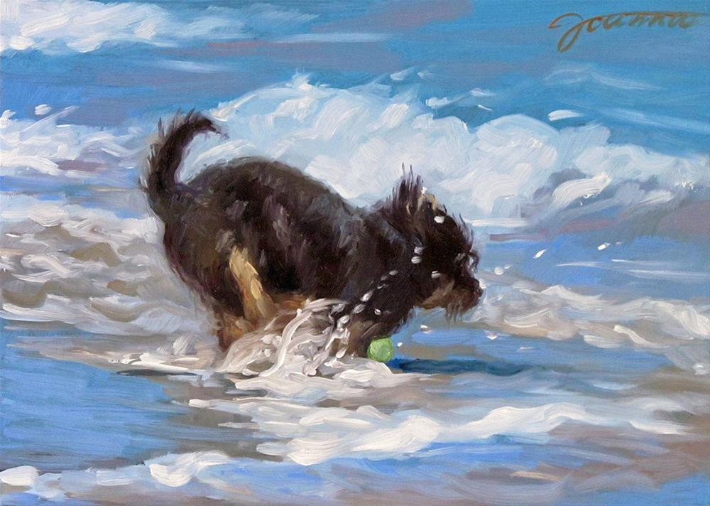 """Call Me Brave"" original fine art by Joanna Bingham"
