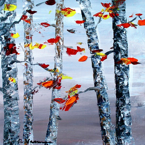 """Change of Season"" original fine art by Anna Vreman"