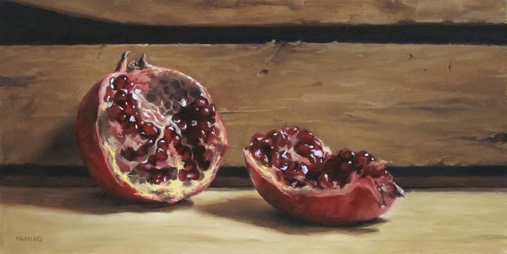 """""""Inside View"""" original fine art by Michael Naples"""