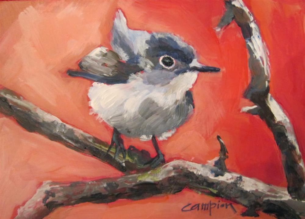 """241. Acapella"" original fine art by Diane Campion"