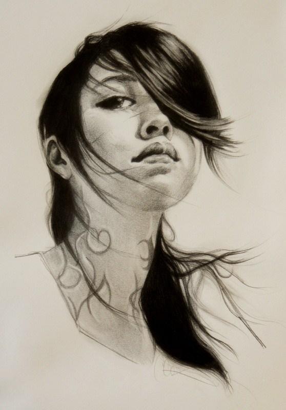 """Isabelle"" original fine art by Crystal  Cook"
