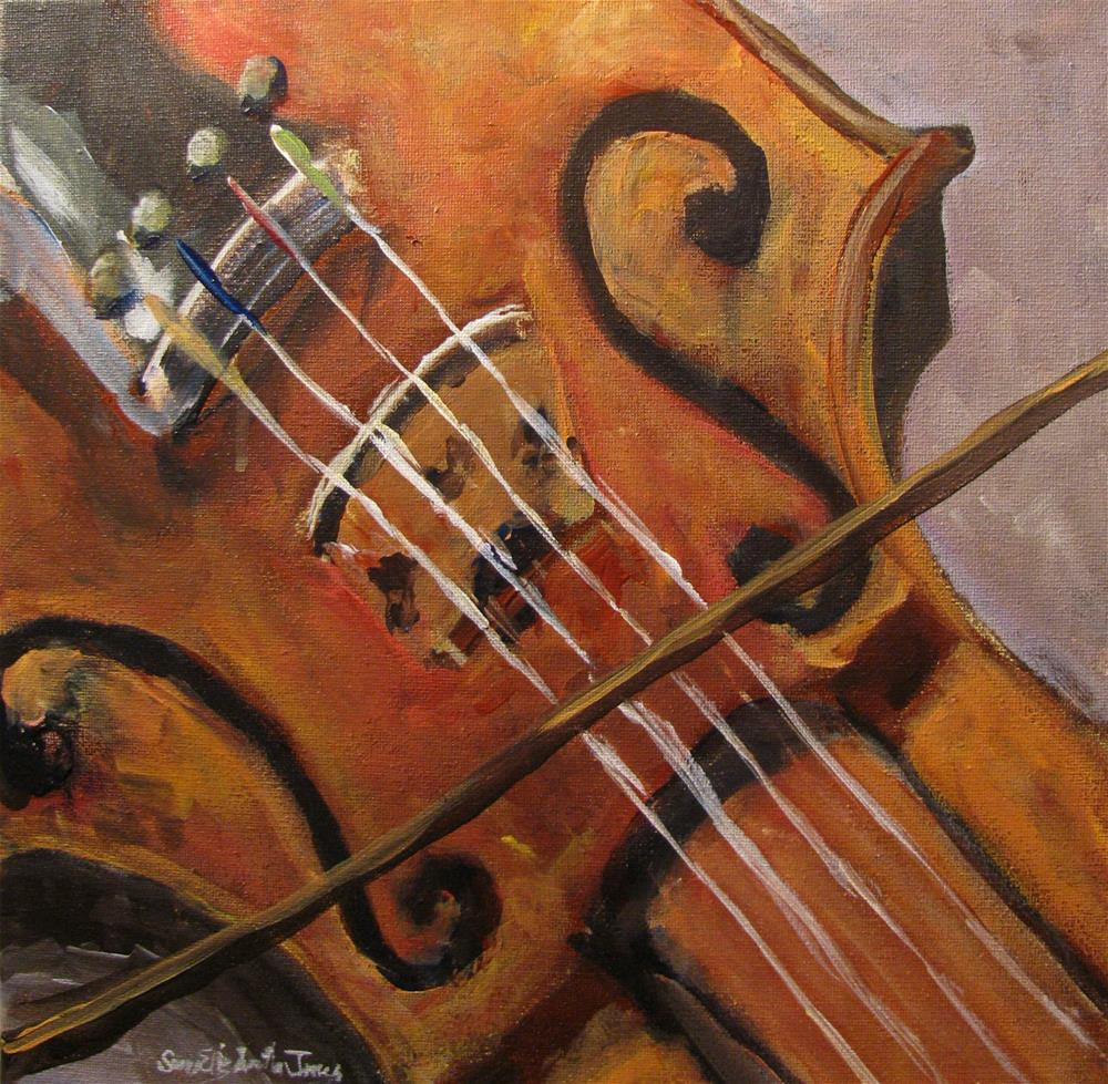 """Soulful Cantilenas"" original fine art by Susan Elizabeth Jones"