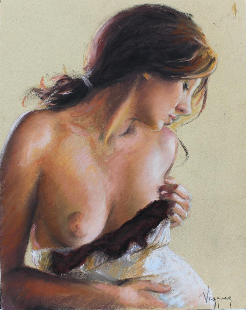 """Figure study "" original fine art by Marco Vazquez"