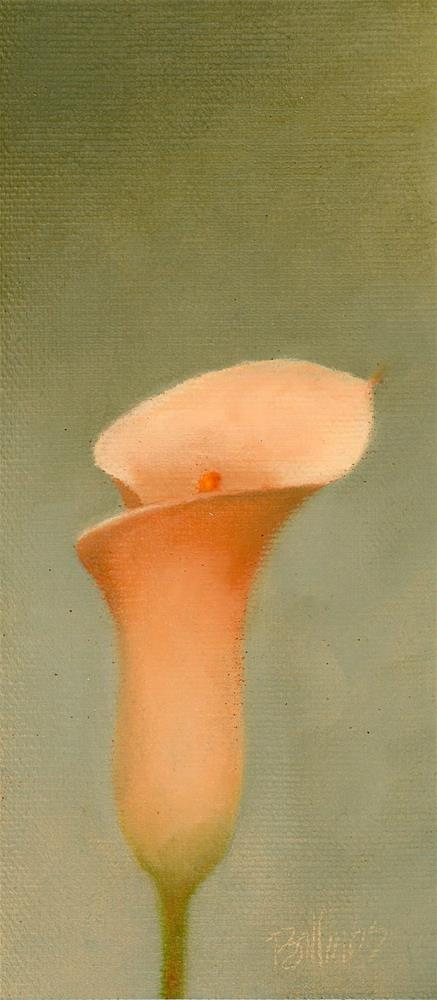"""Calla V"" original fine art by Susanne Billings"