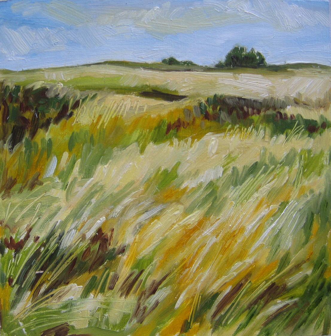 """""""Wild Prairie"""" original fine art by Nicki Ault"""