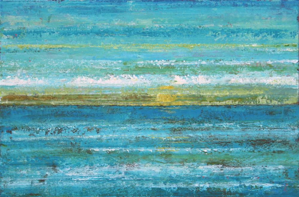 """Out on the Horizon"" original fine art by Sage Mountain"