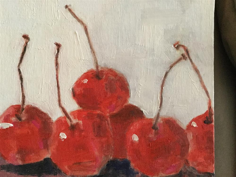 """Cherry ballet"" original fine art by pamela kish"