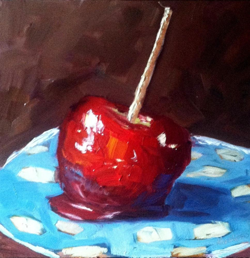 """Candy Apple"" original fine art by Kristen Dukat"