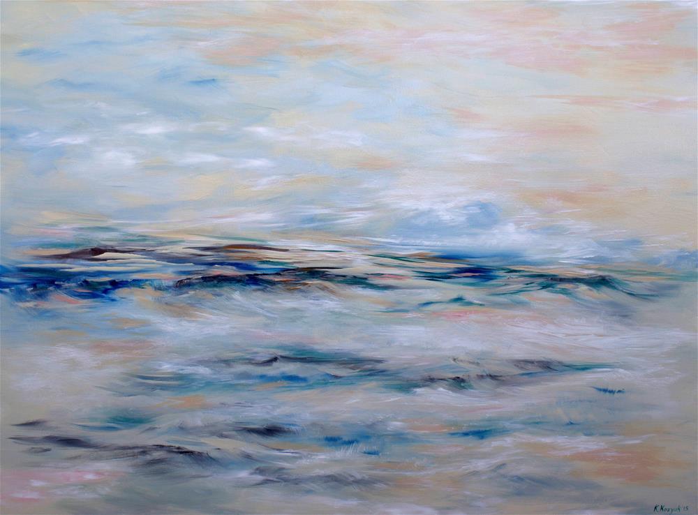 """""""Whitesand Dunes"""" original fine art by Khrystyna Kozyuk"""