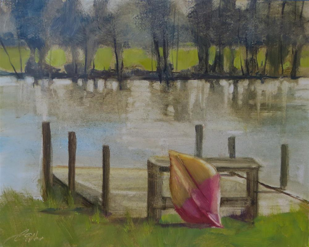 """Solitude"" original fine art by Beth Bathe"