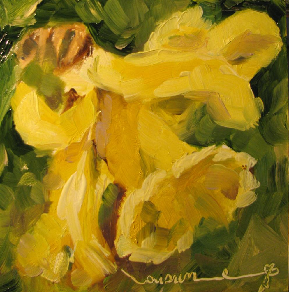 """Jonquil"" original fine art by Susan Elizabeth Jones"