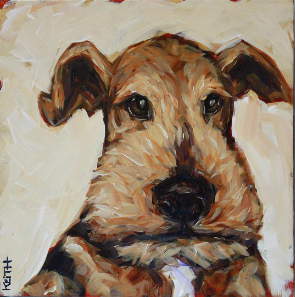 """Penny"" original fine art by Kandice Keith"