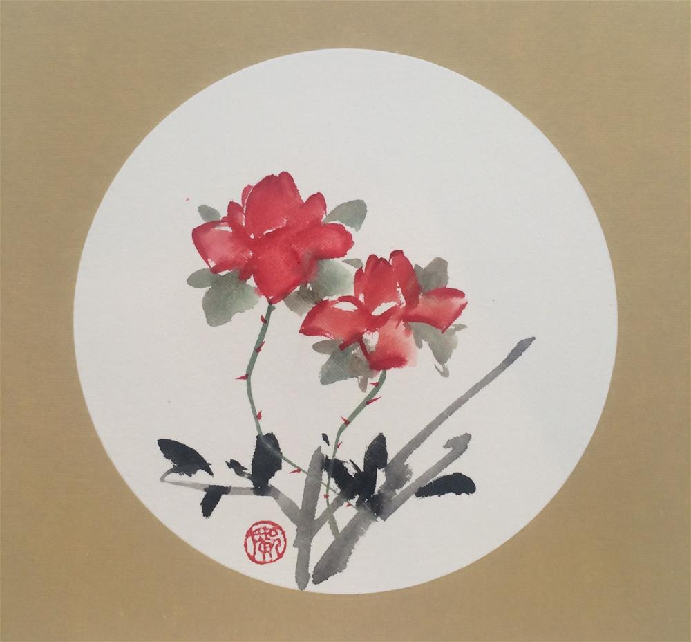 """Roses are red"" original fine art by R kwong"