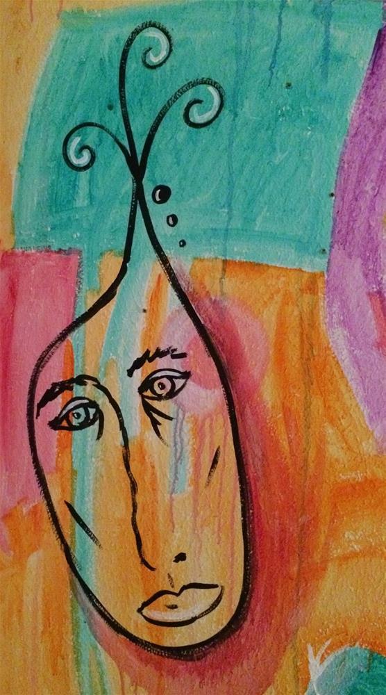 """Staring Down"" original fine art by Kali Parsons"