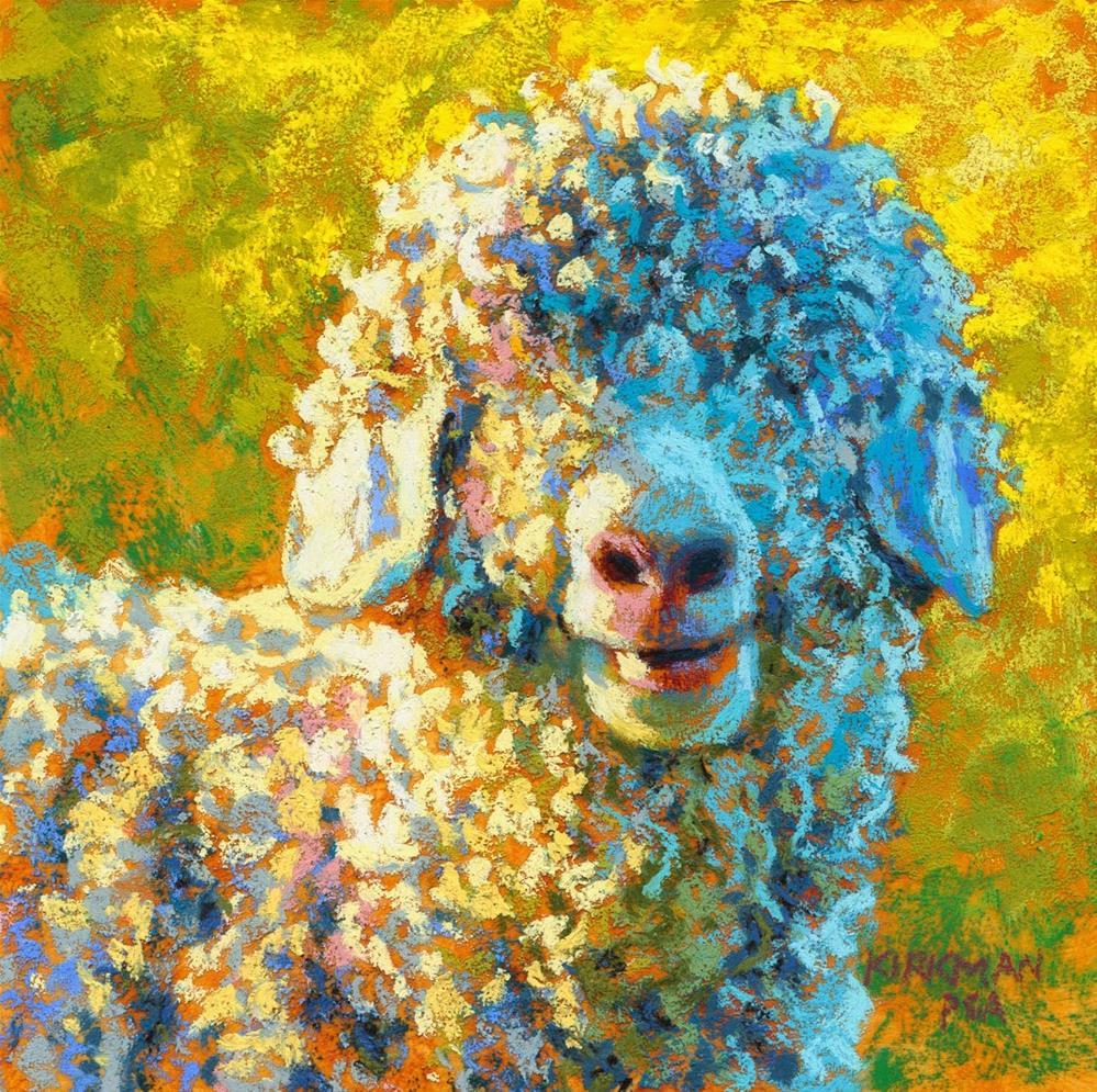 """Shaggy Ray"" original fine art by Rita Kirkman"