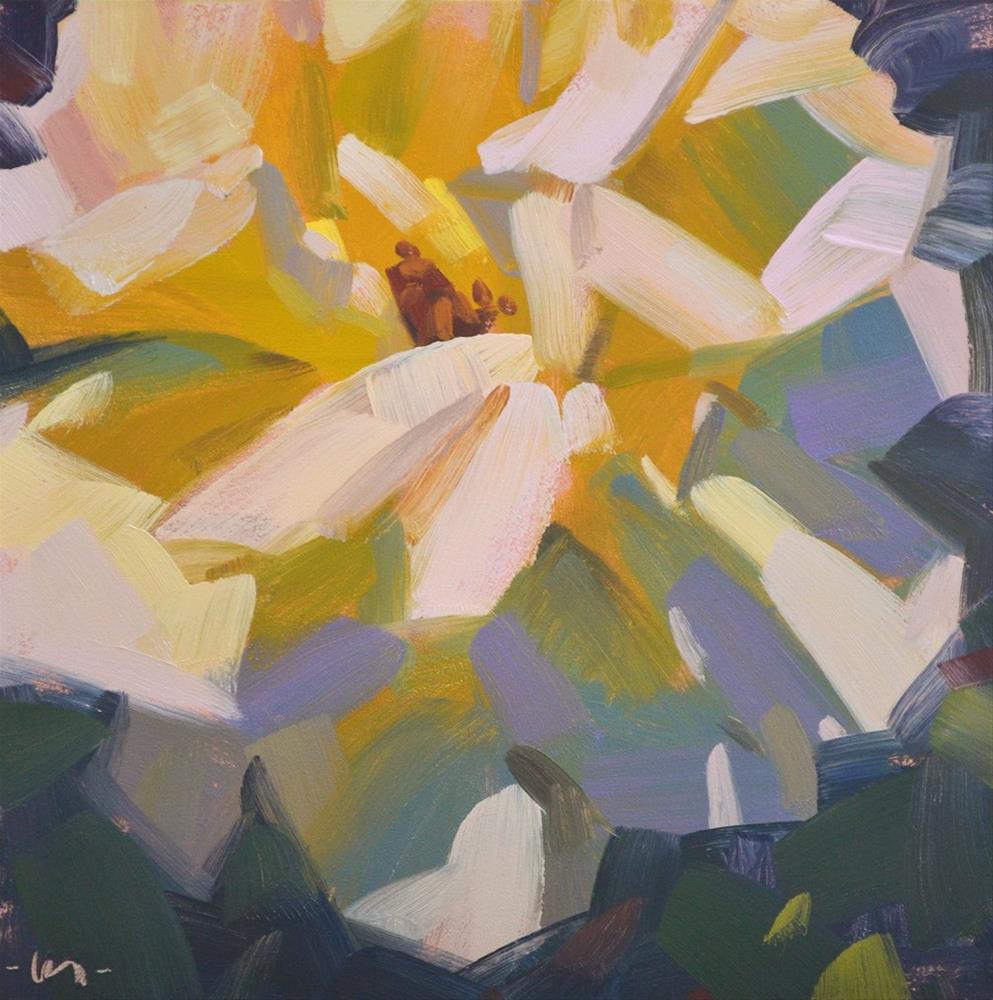 """""""Flo the Rose"""" original fine art by Carol Marine"""